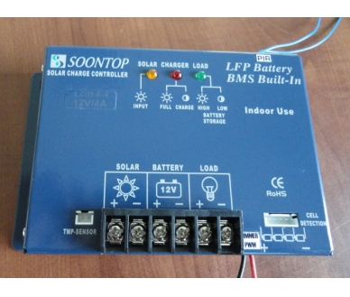 LC02-F-4-PIR-01 12V4A PIR PV LED light Controller